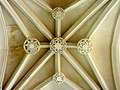 Mitry-Mory (77), église Saint-Martin, 1er collatéral sud, 3e travée, clés de voûte.jpg