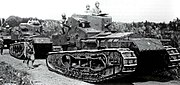 Mk.A Whippets in Japanese service