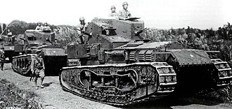 Tanks in the Japanese Army - Japanese Whippets