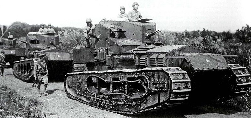 Файл:Mk.A Whippets in Japanese service.jpg