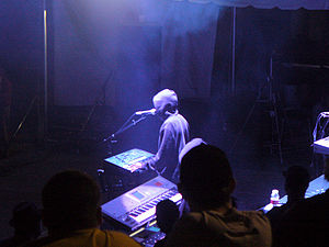 Juan Atkins - Atkins performing as Model 500 at DEMF in 2007.