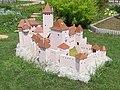 Model hradu Tematín, Podolie (2010-07-27).jpg