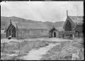 Model pa at Whakarewarewa, 1916. ATLIB 286392.png