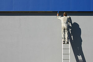 A modern painter and decorator.