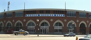 Quad Cities River Bandits - The River Bandits play at Modern Woodmen Park in Davenport
