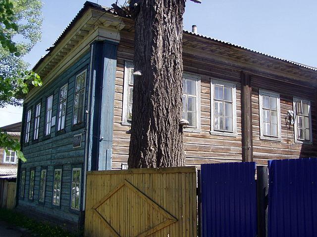 Дом в Кукарке, где родился В.М.Молотов