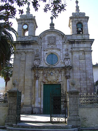 Mondoñedo - Entrance to the Sanctuary of Remedios