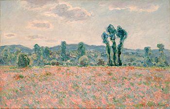 Champ de coquelicots (Monet) — Wikipédia