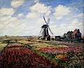 Monet Tulip Fields With The Rijnsburg Windmill 1886.jpg