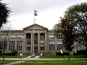 Freehold Borough, New Jersey - Monmouth County Courthouse