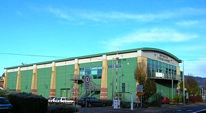 Monmouth Comprehensive School - Image: Monmouth Leisure Ctr