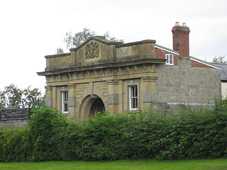 Montgomery, Powys - Gatehouse, Old Gaol, Montgomery