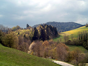 Montmelon, Jura in spring.JPG