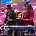 Moonalice playing in Union Square, San Francisco, 2015.jpg