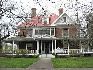 National Register of Historic Places listings in Mississippi County, Missouri - Image: Moore House in Charleston