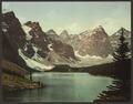 Moraine Lake, Alberta-LCCN2008679648.tif