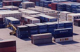 Morehead City, North Carolina - Container terminal