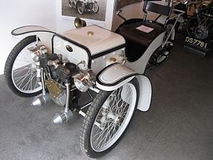 Morgan Motor Company - Single-seat Morgan Runabout, similar to HFS Morgan's 1909 car