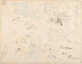 Morning- Pope's Odyssey, Book 12 (recto); Study for the final drawing (verso) MET DP804221.jpg
