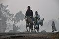 Morning Commuters - NH-34 - Sargachi - Murshidabad 2014-11-29 0128.JPG