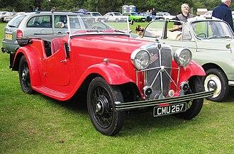 Cunard (coachbuilder) - Cabriolet August 1935 Morris Ten Six chassis