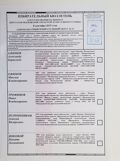 Moscow City Duma election, 2019. Polling station 0768 04.jpg