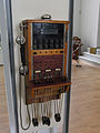 Moscow Polytechnical Museum, manual small phone commutator (4927760448).jpg