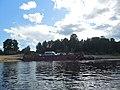 Motorboat by Verkhnaya Dvina, Kotlas - Toima - panoramio (71).jpg