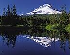 Mount Hood reflected in Mirror Lake, Oregon.jpg