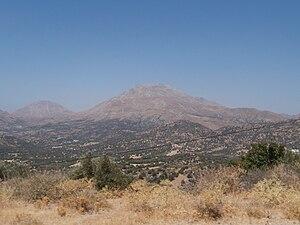 Mount Kedros - Image: Mount Kedros