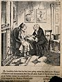 Mr. Lambkin at home ill from overindulgence being visited by Wellcome V0011251EL.jpg