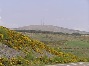 Mullaghanish - Image: Mullaghanish RTÉ transmitter