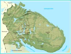 Norsk hjalp till kolahalvon