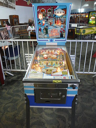 Ed Krynski - Sing Along pinball machine, designed by Krynski
