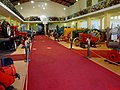 Museu Agromen de Tratores e Implementos Agrícolas, localizado no complexo do Centro Hípico e Haras Agromen em Orlândia. Corredor de entrada do Museu Agromen - panoramio.jpg