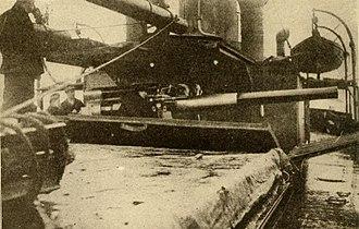 Q-ship - Q ships hid naval guns behind moveable panels.