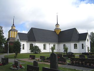 Närpes Town in Ostrobothnia, Finland