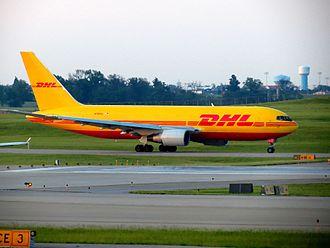 Cincinnati/Northern Kentucky International Airport - DHL Boeing 767-200 (N784AX) at CVG