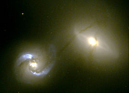 NGC 1409 (rechts) en NGC 1410 (links)