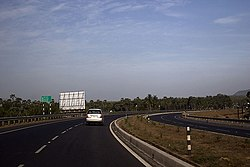 NH5 at Anandapuram in Visakhapatnam district