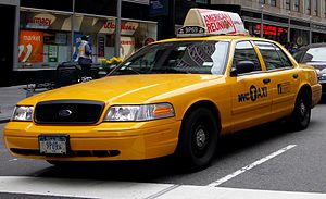 Vehicle for hire - Taxicab in New York City