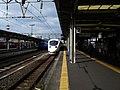 Nagasaki Main Line Nagasaki Station Platform No.2.jpg