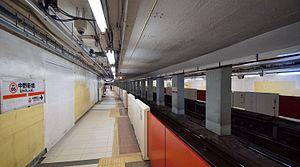 Nakano-shimbashi Station - Image: Nakano shimbashi Station platform 2 south 20131116