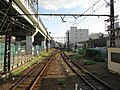 Nankai Shiomibashi Station platform - panoramio (10).jpg