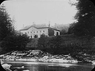 Nantgwyllt mansion, Elan Valley