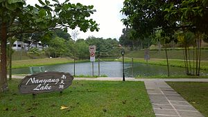 Nanyang Technological University - Nanyang Lake