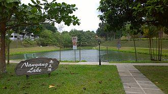 Nanyang Technological University - Nanyang Lake