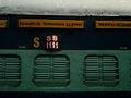 Narayanadri-Falaknuma Express rakes at Secunderabad 02.jpg