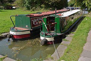 Narrow Boats at Welford Canal Northants - Flickr - mick - Lumix(1).jpg