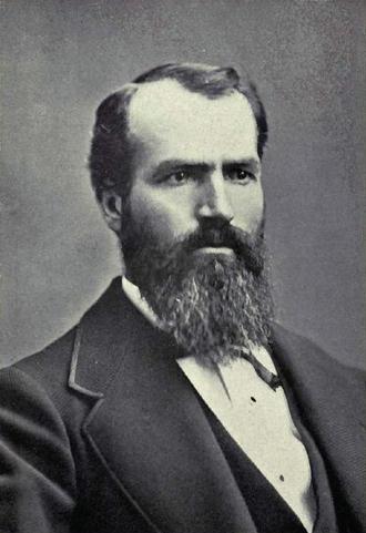 Nathaniel P. Langford - 1870 Portrait of Nathaniel P. Langford